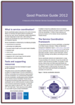 Service Coordination Good Practice Guide