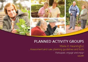 Planned Activity Groups: Make it meaningful