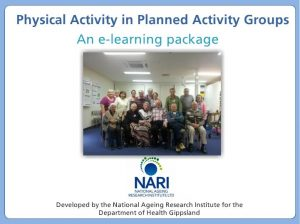 Physical Activity in Planned Activity Groups